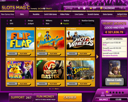 Slots Magic Casino Casino Screenshot #0