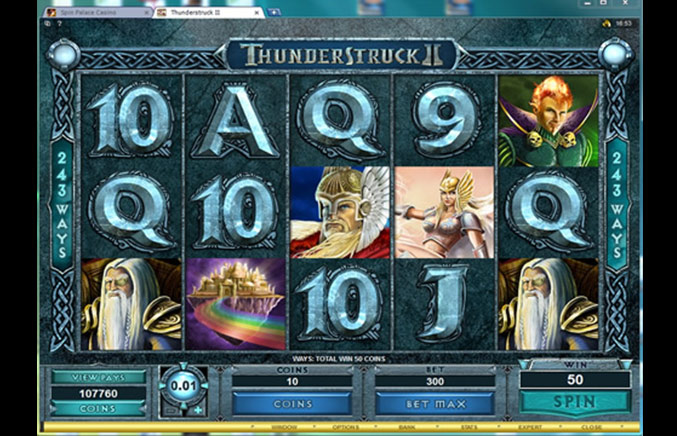 Spin Palace Casino Casino Screenshot #2