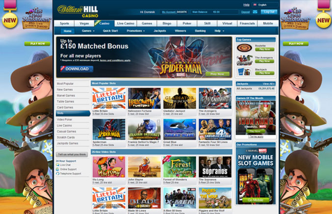 william hill online casino online gaming