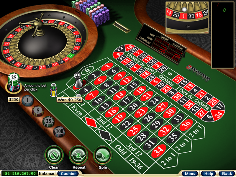 Yebo Casino Casino Screenshot #1