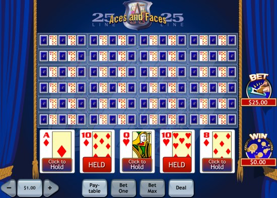 aces and faces online casino