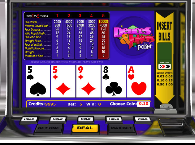 best online casino websites joker poker